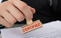 Post Certification Services